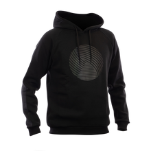 Laden Sie das Bild in den Galerie-Viewer, Reflective Hoodie, black, Swirl