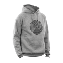 Laden Sie das Bild in den Galerie-Viewer, Reflective Hoodie, grey, Swirl