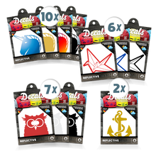 Laden Sie das Bild in den Galerie-Viewer, DECALS - 25er Pack