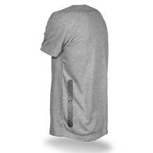Laden Sie das Bild in den Galerie-Viewer, Reflective T-SHIRT, product picture back, grey, Flow