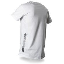 Laden Sie das Bild in den Galerie-Viewer, Reflective T-SHIRT, product picture back, white, Flow