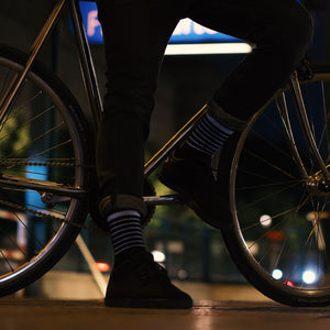 Bike Socks, black, without reflection
