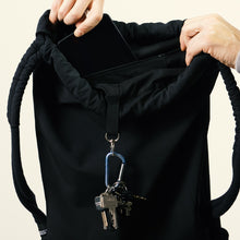 Laden Sie das Bild in den Galerie-Viewer, Backpack details, keyring, zipper pouch