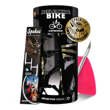 Laden Sie das Bild in den Galerie-Viewer, Reflective BIKE, DIY Sticker Kit, Cathedral Design, camouflage, premium