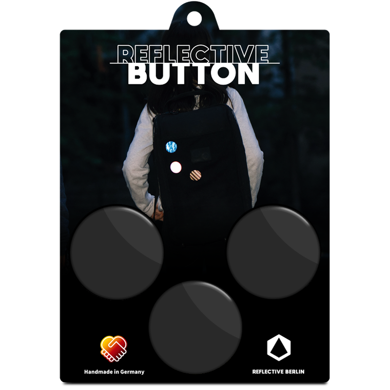 Reflective BUTTON: Upcycled