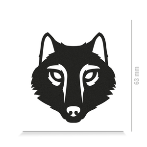 Reflective DECAL - Wolf