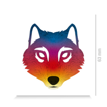 Laden Sie das Bild in den Galerie-Viewer, Reflective DECAL - Wolf