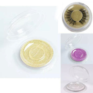 10 Strip False Eyelash Care Storage Case / Box (Round)
