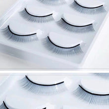 Load image into Gallery viewer, 10 (5 Pairs) Practice/Training Strip Eyelash