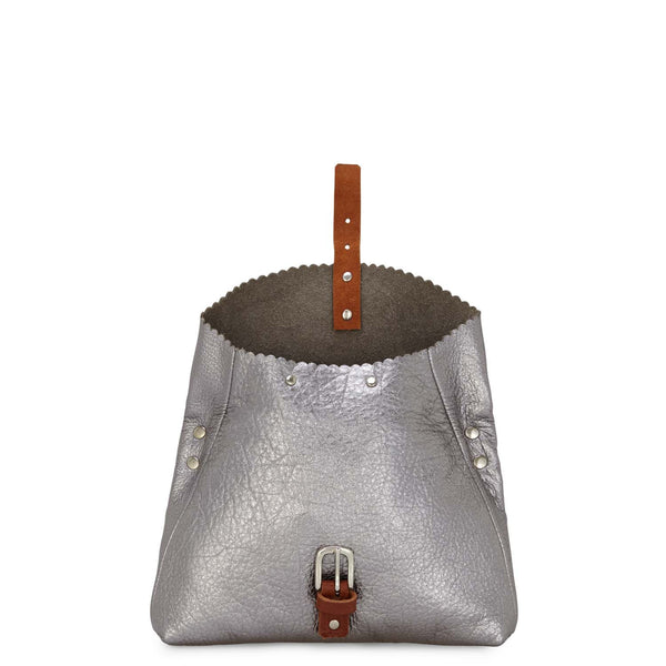 Soft leather folding bag. Medium sized cross-body bag with adjustable strap  and buckle fastening. e460d810c1e31
