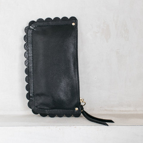 Carey Scallop Zip Purse