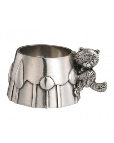 Royal Selangor Pewter Teddy Bear Egg Cup