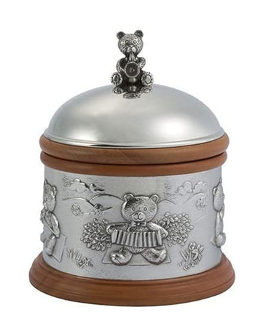 Royal Selangor Pewter Teddy Bear Music Box