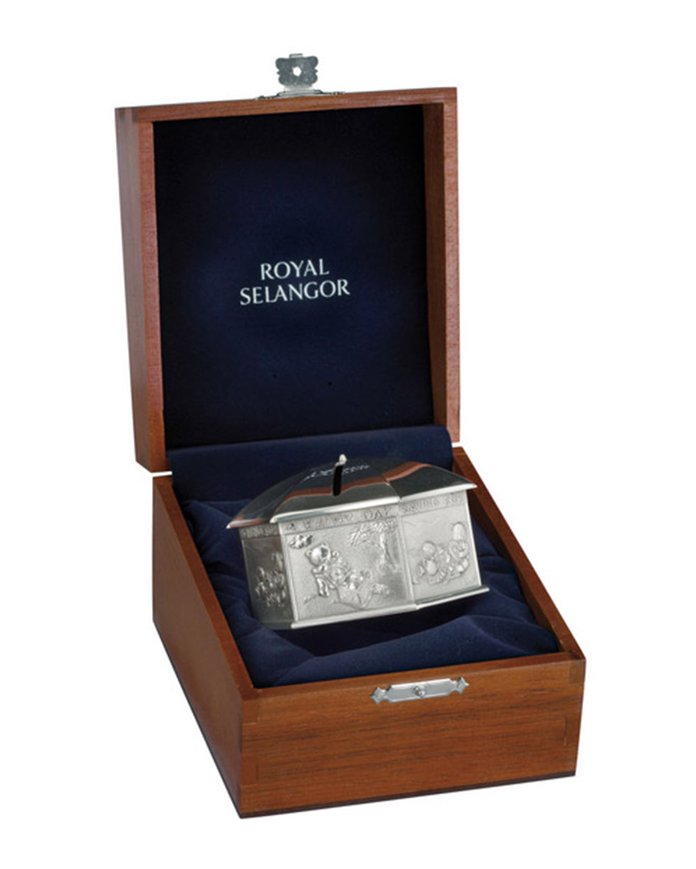 Royal Selangor Pewter Rainy Day Umbrella Coin Box