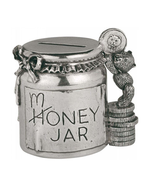 Royal Selangor Pewter Honey / Money Jar Coin Box