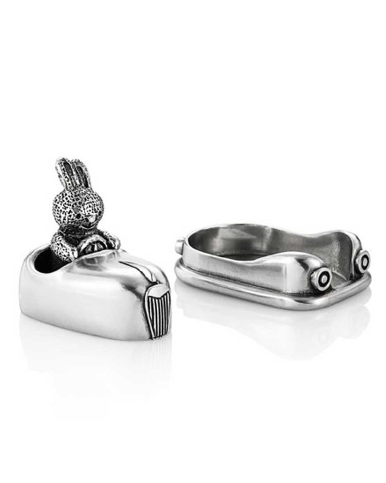 Royal Selangor Pewter Bunny Rabbit Dodgem Tooth Box