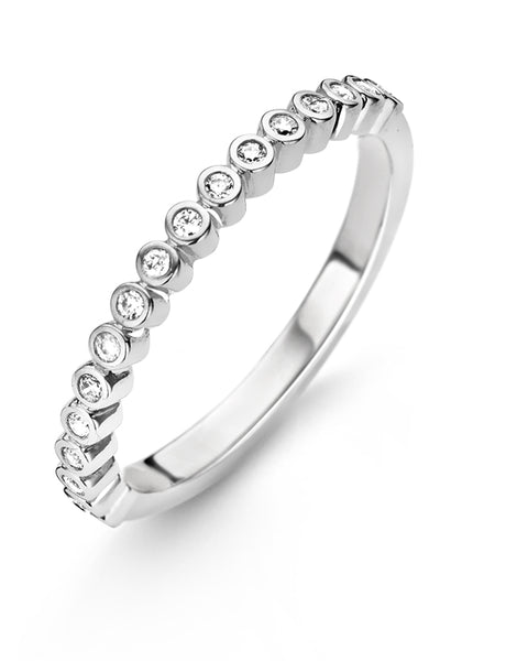 Ti Sento Sterling Silver & Cubic Zirconia Ring