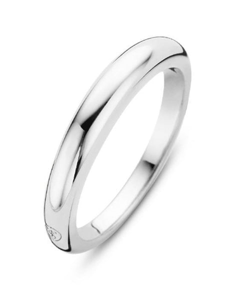 Ti Sento Sterling Silver Plain Band Ring
