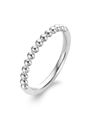 Ti Sento Sterling Silver Bubble Ring