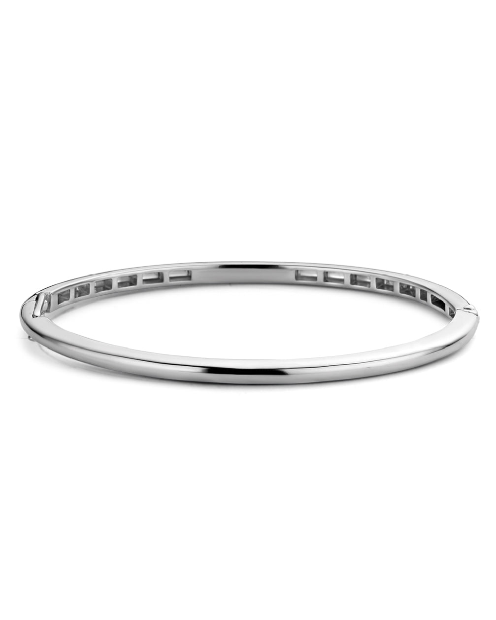 Ti Sento Sterling Silver Thin Bangle