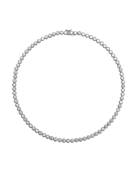 Diamonfire Silver Rubover Full Collar - 63/0580/1/582