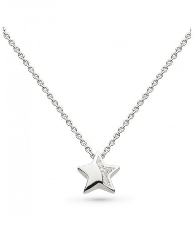 Kit Heath Miniature Sparkling Star Necklace