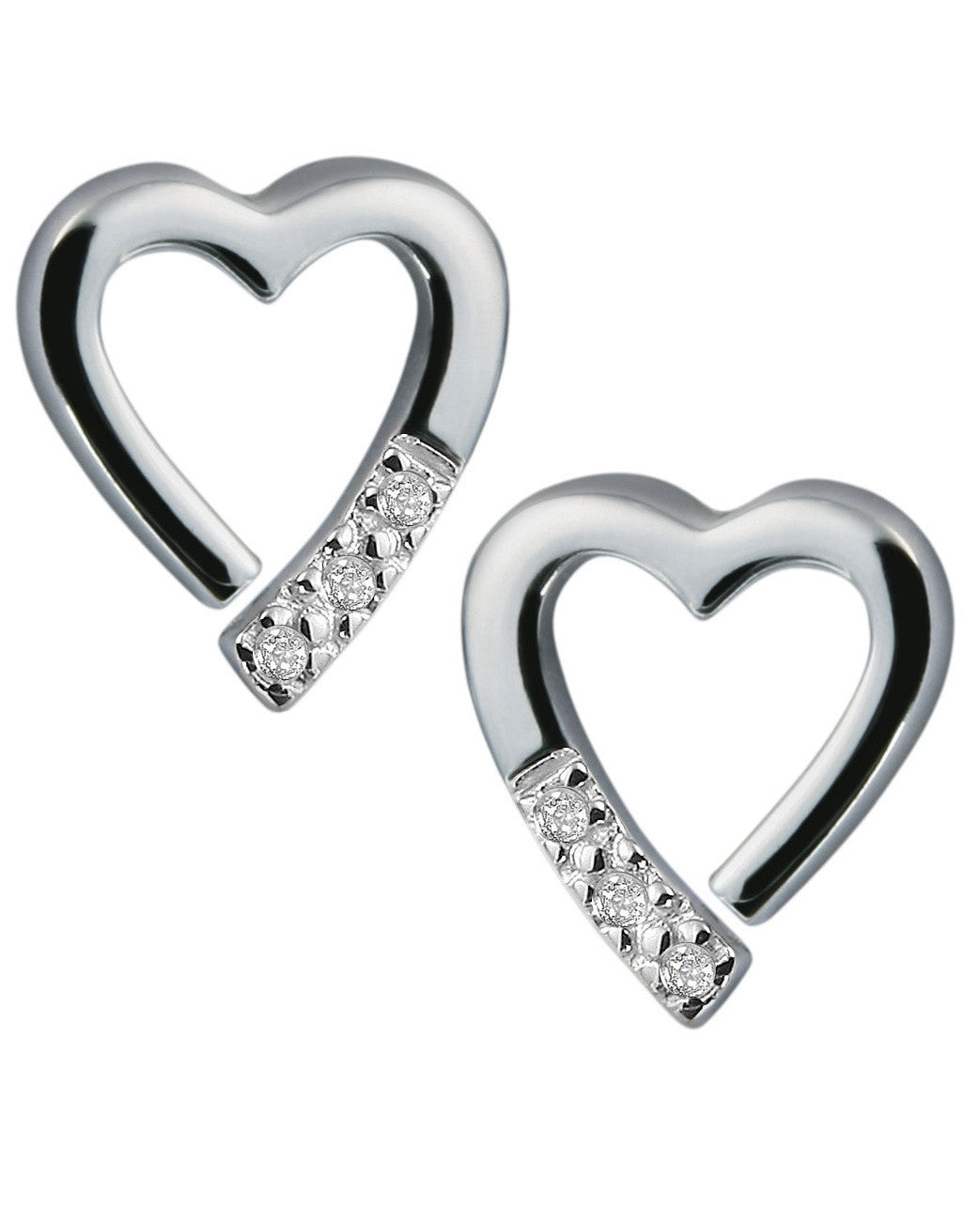 Hot Diamonds Just Add Love Memories Earrings