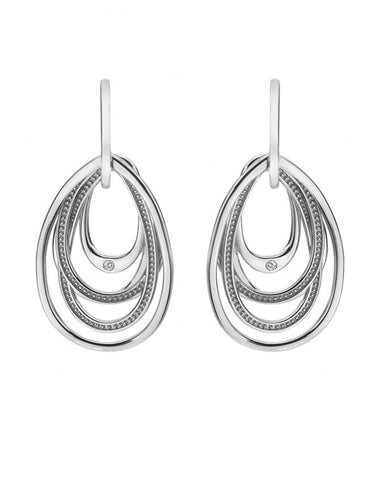 Hot Diamonds Chandelier Silver Drop Earrings