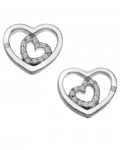 Hot Diamonds Adorable Encased Earrings DE548