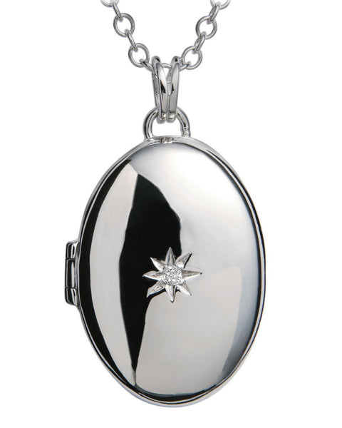 Hot Diamonds Inheritance Silver Locket Pendant DP143