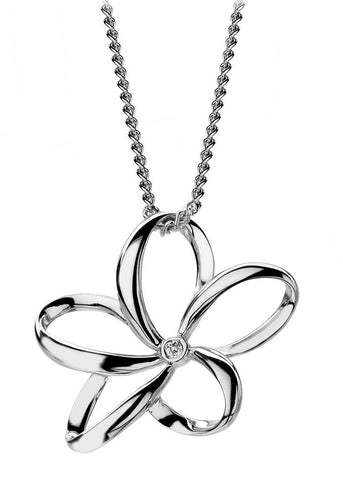 Hot Diamonds Open Petal Pendant