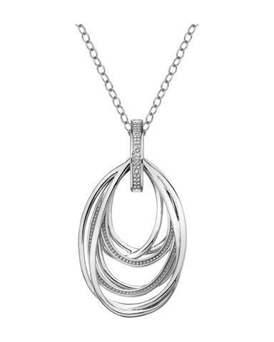 Hot Diamonds Sterling Silver Glamorous Pendant