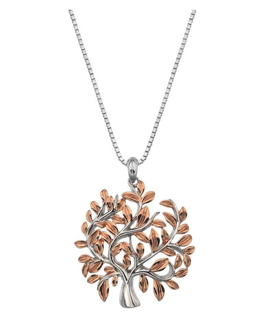Hot Diamonds Rose Gold Plated Passionate Pendant