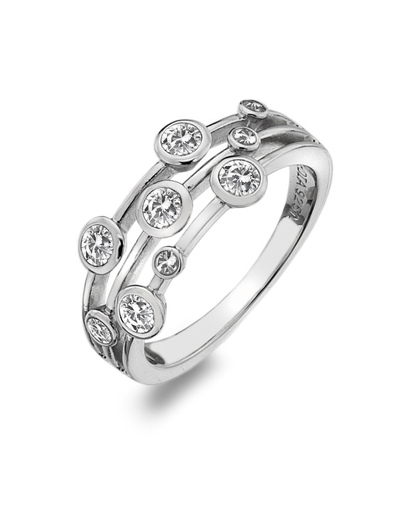Hot Diamonds Sterling Silver Tender Statement Ring