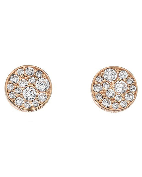 Emozioni Purity Rose Gold Plated Earrings