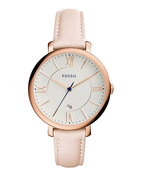 Fossil Jaqueline Blush Leather Ladies Watch