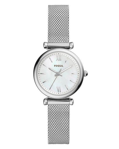 Fossil Carlie Mini Stainless Steel Ladies Watch
