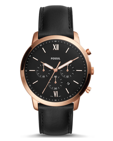 Fossil Neutra Chronograph Leather Strap Mens Watch