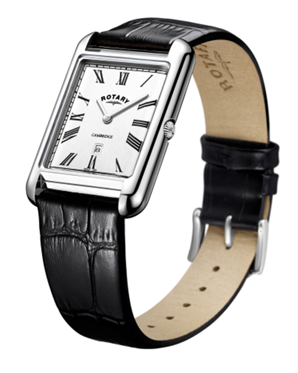 Rotary Gents Cambridge Rectangle Watch