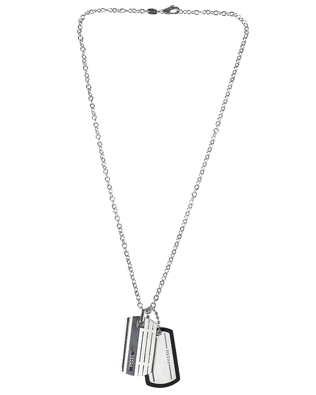 Fossil Men's Stainless Steel Casual Necklace