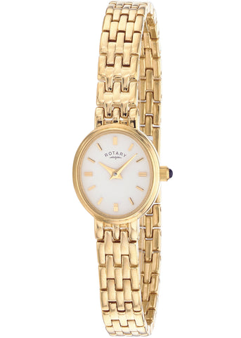Rotary Gold-plated Bracelet Ladies Case Watch