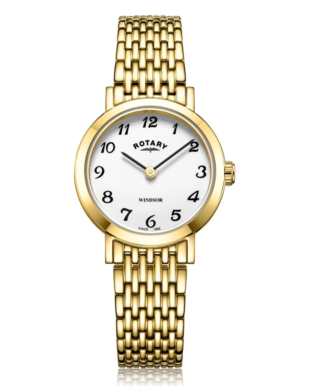 Rotary Ladies Windsor Gold Plated Watch