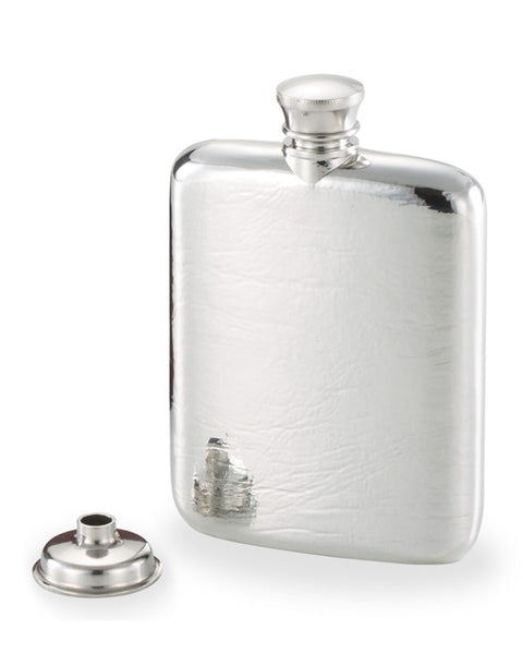 Royal Selangor Pewter Textured 4.5oz Hip Flask