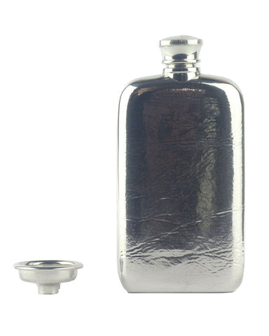 Royal Selangor Pewter Textured 3oz Hip Flask
