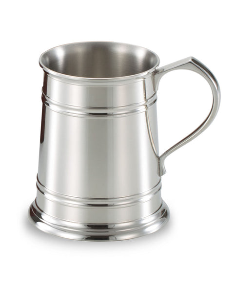 Royal Selangor Pewter Bevelled Edge 1 Pint Tankard