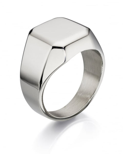 Fred Bennett Stainless Steel Signet Ring