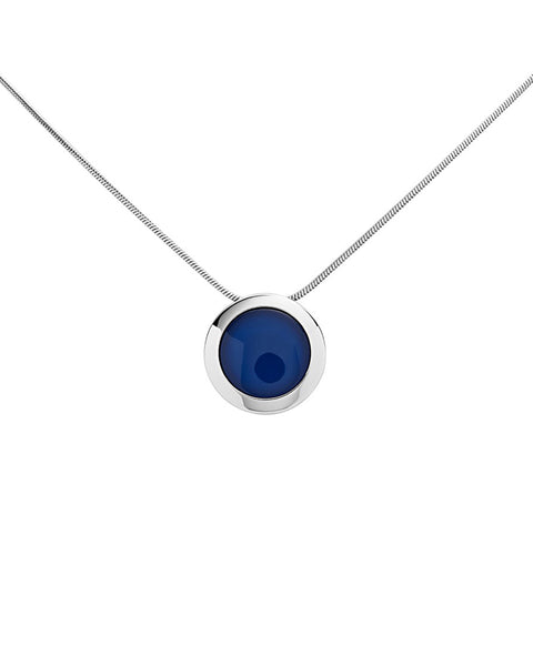 Skagen Sea Glass Stainless Steel Necklace