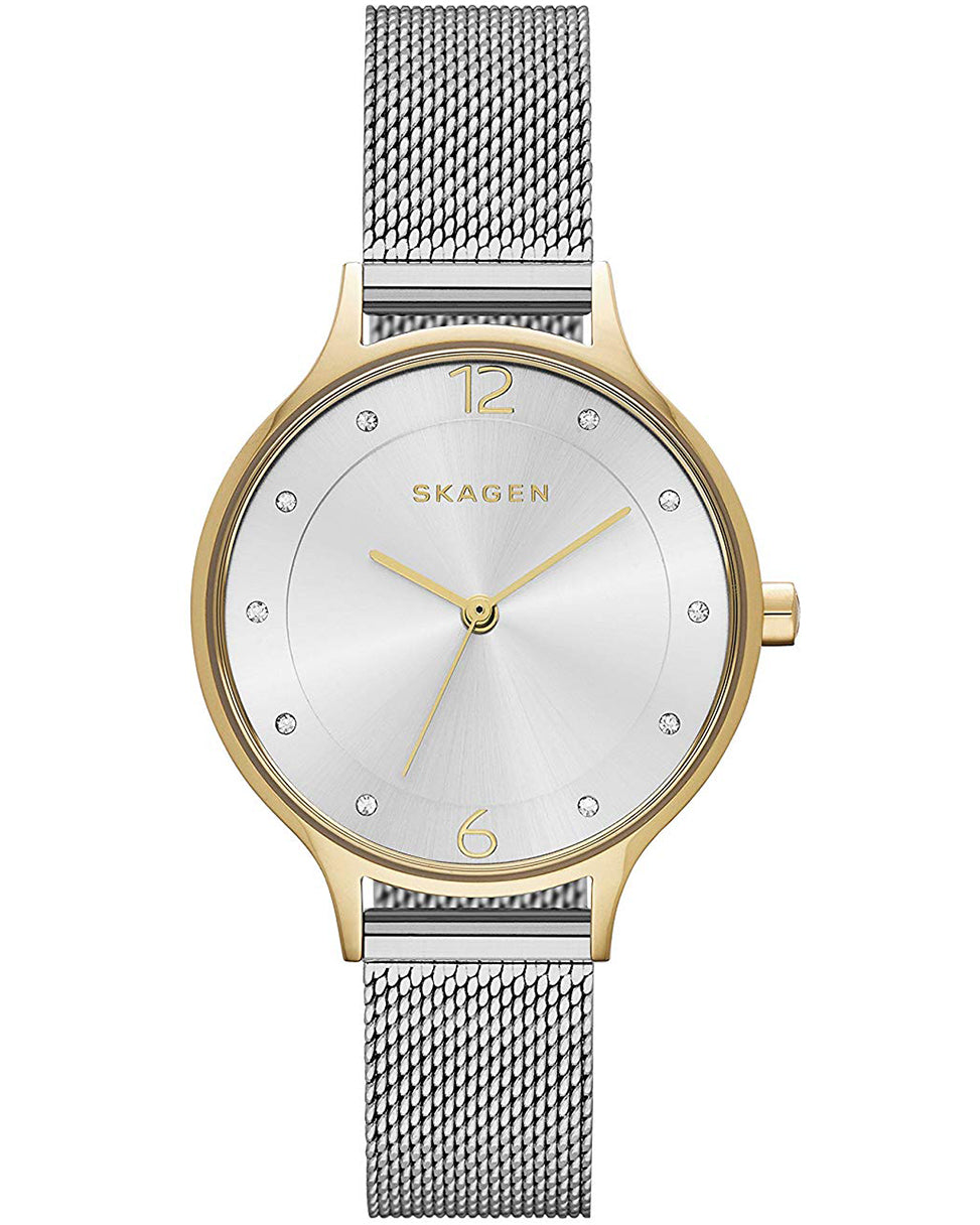 Skagen Anita Two-Tone Steel Ladies Watch