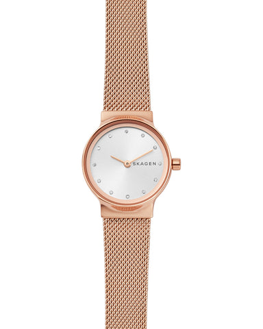 Skagen Freja Rose Gold Plated Ladies Watch
