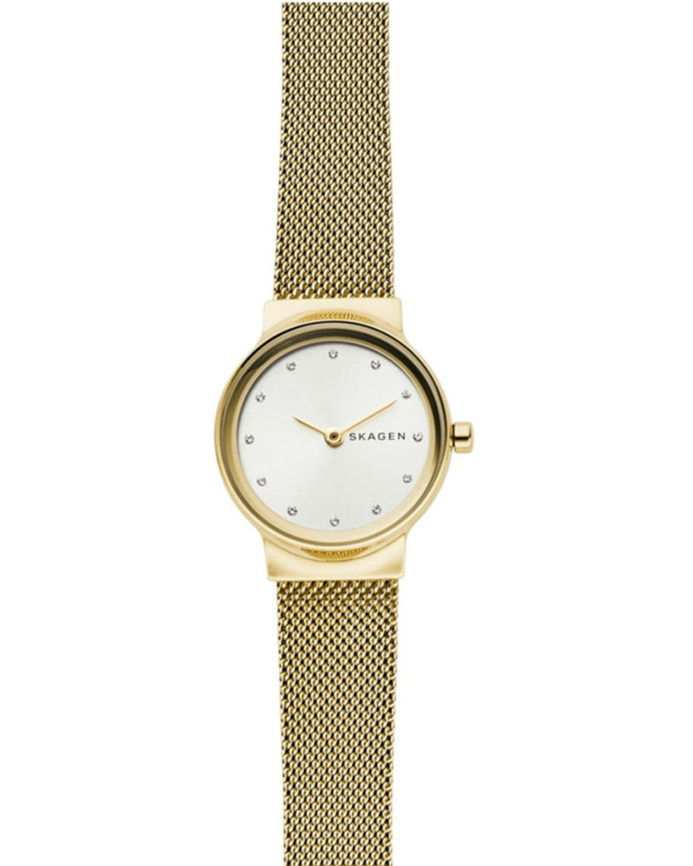 Skagen Freja Yellow Gold Plated Ladies Watch